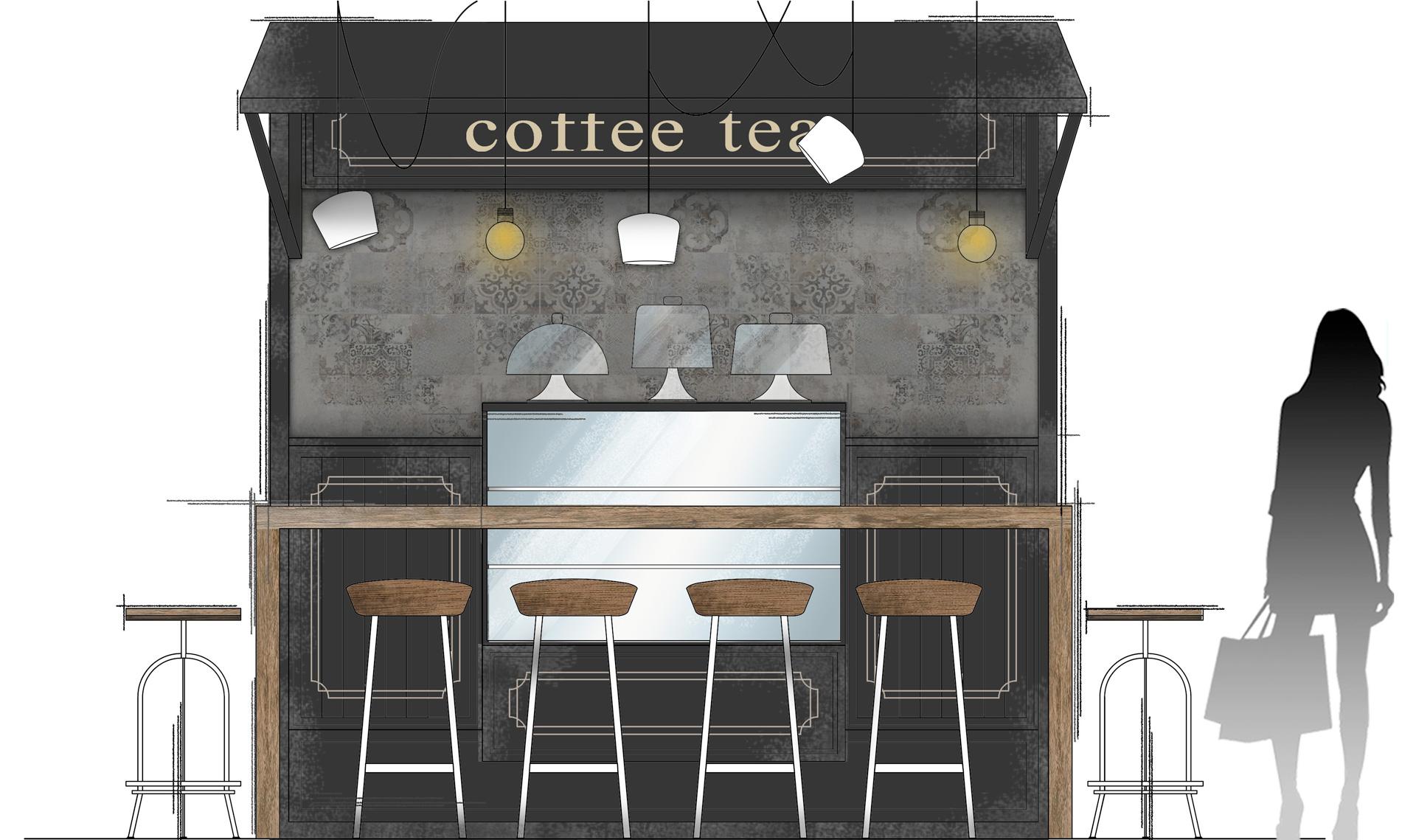 Cafe Area Concept