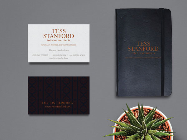 Tess Stanford Interior Architects Stationary