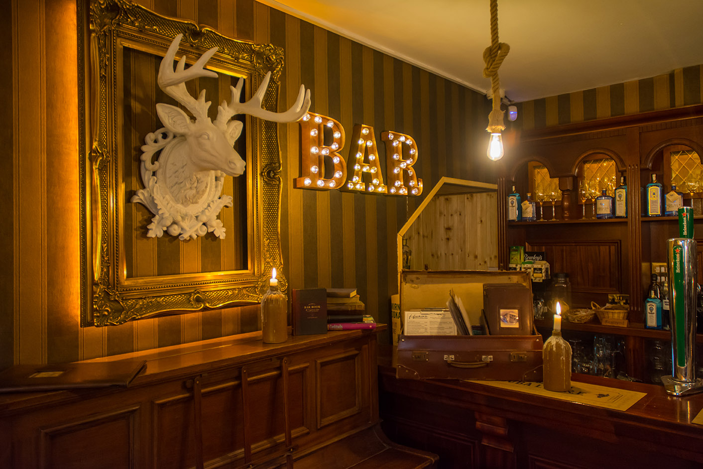 Hickies Kilkee Bar area designed by Tess Stanford Interior Architects