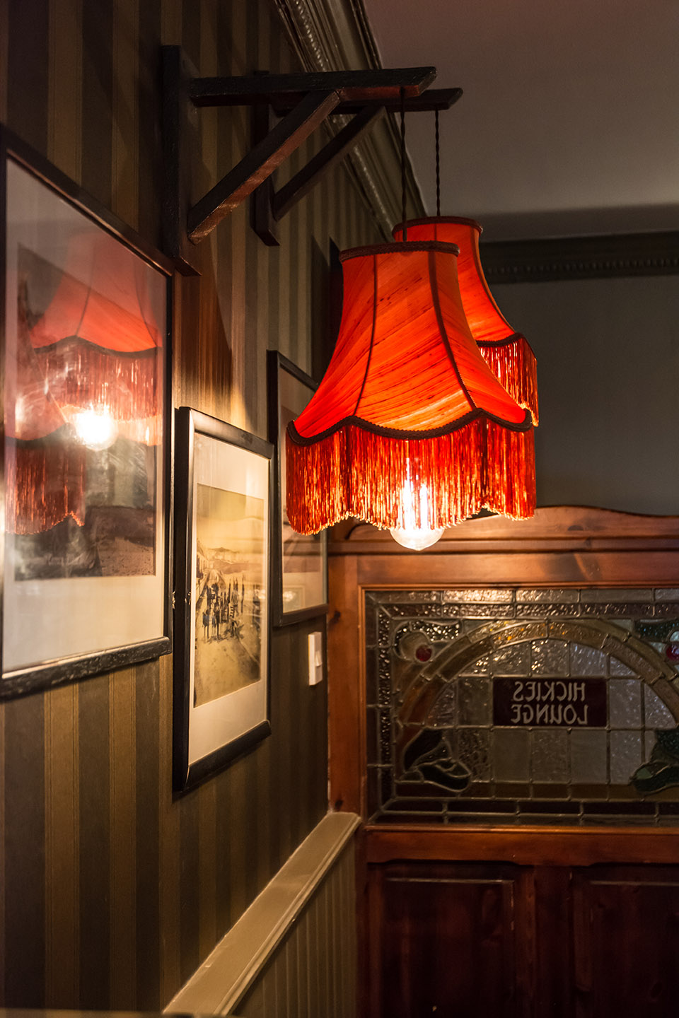 Hickies Kilkee Snug area designed by Tess Stanford Interior Architects